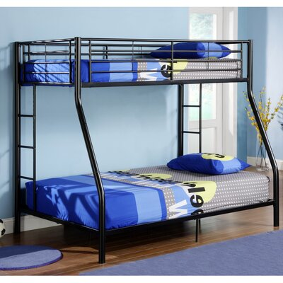 Home Loft Concepts Sunrise Bunk Bed with Built-In Ladder