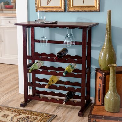 24 Bottle Bar Wine Rack by Andover Mills