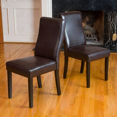 Ando Dining Chair (Set of Two) by Andover Mills