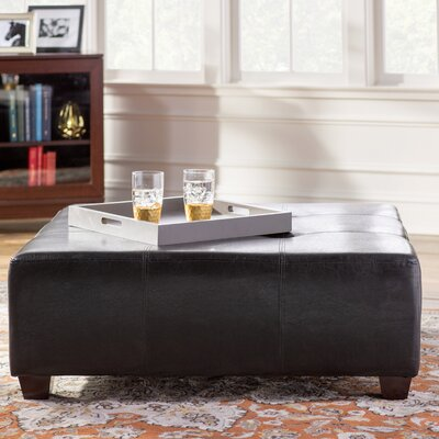 Square Tufted Ottoman by Andover Mills