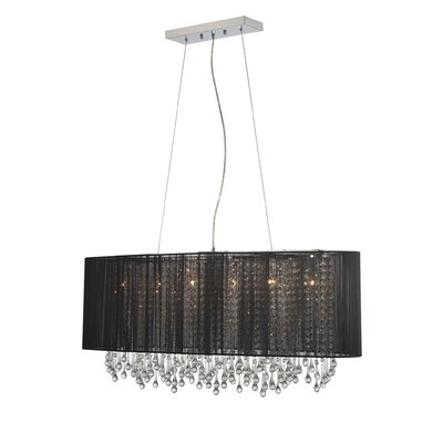 Beverly Drive 6 Light Drum Chandelier by Avenue Lighting