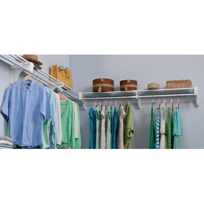 Expandable Closet Kit - 2 Closet Shelves & Rods and 2 End brackets Product Photo