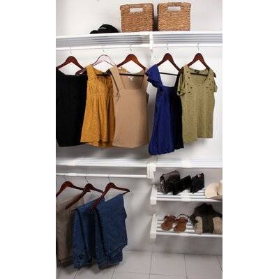 Expandable Reach-In Closet Organizer Product Photo