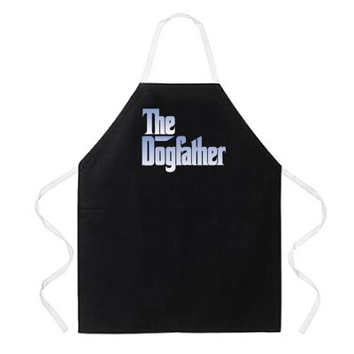 Attitude Aprons by L.A. Imprints Dogfather Apron in Black