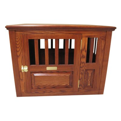 Classic Pet Beds Handmade Furniture-Style Pet Crate