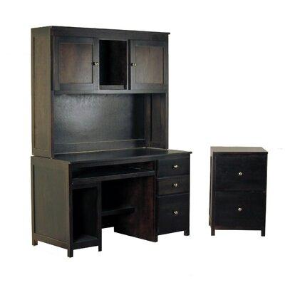 3-Piece Standard Desk Office Suite by Forest Designs