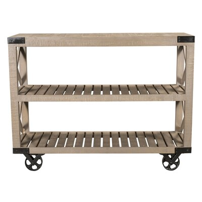 Wheel Console Table by STYLE N LIVING