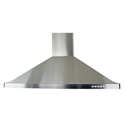 "30"" 760 CFM Wall Mount Range Hood in Stainless Steel Product Photo"