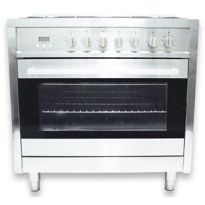 3.8 Cu. Ft. Dual Fuel Convection Range in Stainless Steel Product Photo