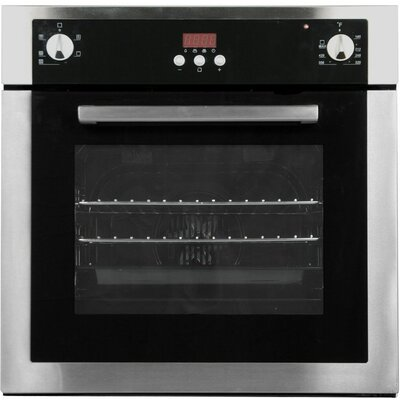"Cosmo 21.4"" Electric Single Wall Oven in Stainless Steel Product Photo"