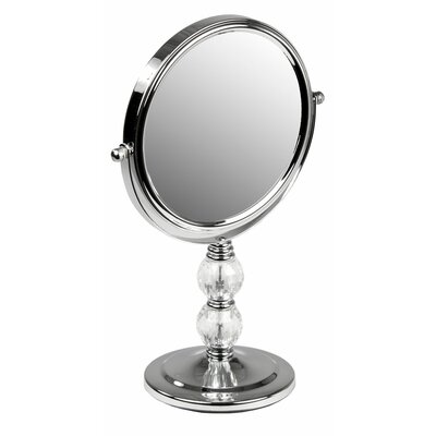 Cosmetic Mirror with Crystals by Home Basics