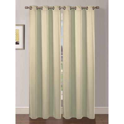Ana Woven Room Darkening Curtain Panels (Set of 2) Product Photo