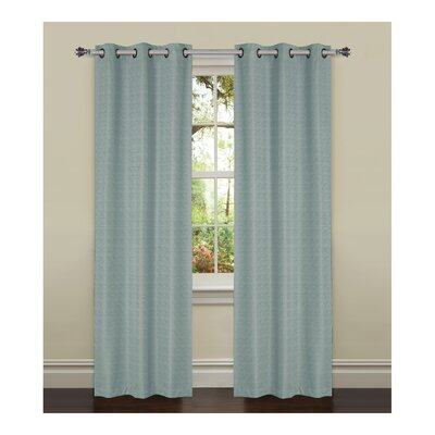 York Textured Room Darkening Curtain Panels (Set of 2) Product Photo