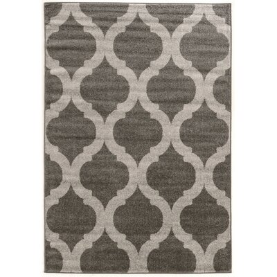 Lindsley Gray Area Rug by Three Posts