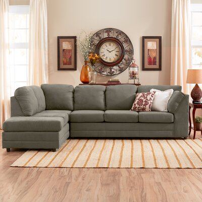 Corner Sectional by Serta Upholstery by Three Posts