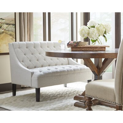 Three Posts Banquette Upholstered Entryway Bench Reviews Wayfair
