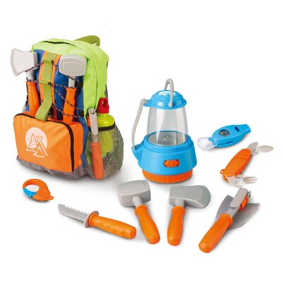 Little Explorer 9-Piece Camping Backpack Play Set by Berry Toys