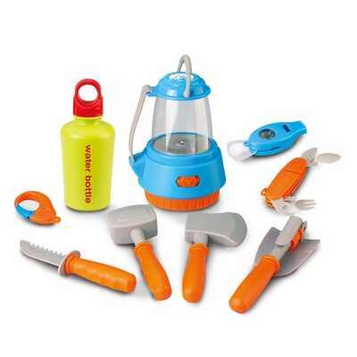 Little Explorer 9-Piece Essential Camping Play Set by Berry Toys