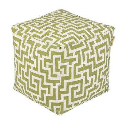 Labyrinth Occassional Outdoor Pouf Ottoman by JB Home