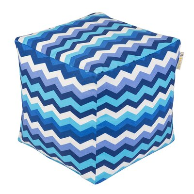 Wave Occassional Outdoor Pouf Ottoman by JB Home