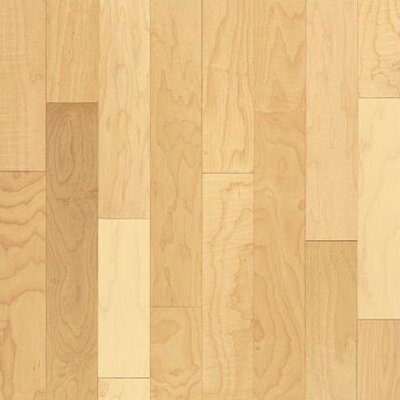 """Forest Valley Flooring 5"""" Solid Maple Hardwood Flooring in Natural"""