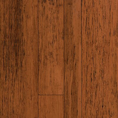 Expressions Random Width Solid Bamboo Hardwood Flooring in Antique Spice by Forest Valley Flooring