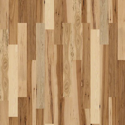 "Forest Valley Flooring Chimney Rock 4"" Solid Hickory Hardwood Flooring in Prairie"
