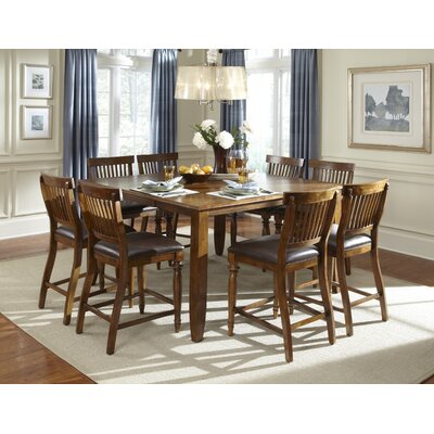 American Heritage Delphina 9 Piece Counter Height Pub Set