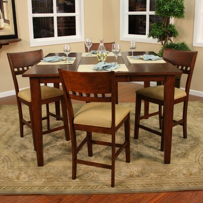 American Heritage Este Butterfly Counter Height Dining Table