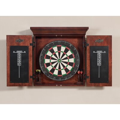 American Heritage Athos Dart Board with Darts