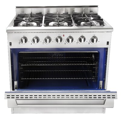 5.2 Cu. Ft. Gas Convection Range in Stainless Steel Product Photo