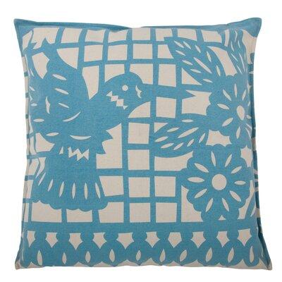 Thomas Paul Mod Mex Hummingbird Cotton Throw Pillow
