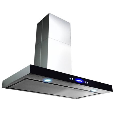 """30"""" 760 CFM Convertible Wall Mount Range Hood in Silver Product Photo"""