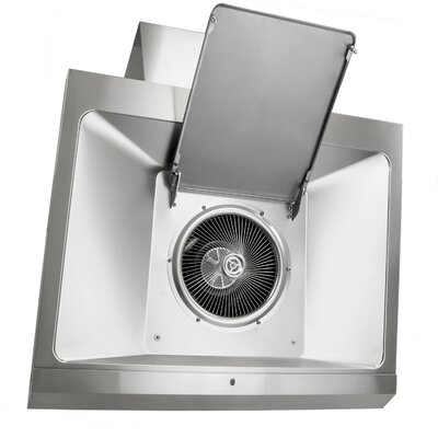 "30"" 760 CFM Ducted Wall Mount Range Hood in Silver Product Photo"