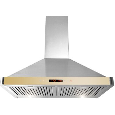 "30"" 760 CFM Convertible Wall Mount Range Hood Product Photo"