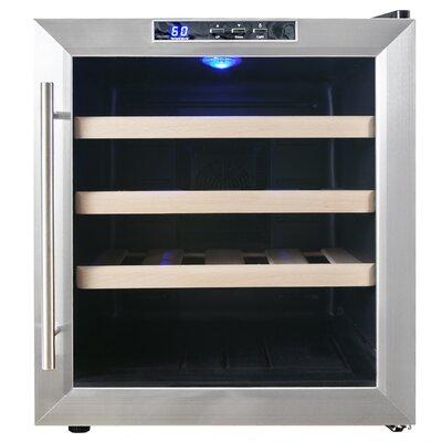 16 Bottle Single Zone Freestanding Wine Refrigerator by AKDY