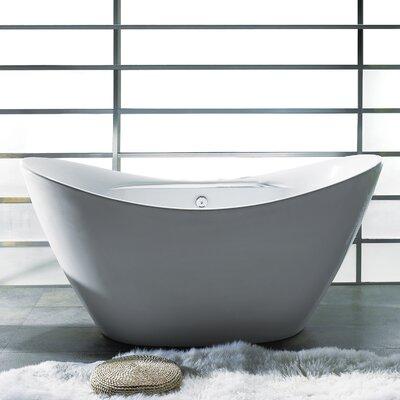 "67"" x 30"" Soaking Bathtub Product Photo"
