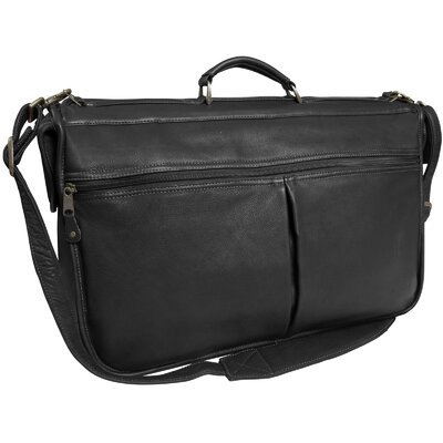 Laurel Leather Compact Garment Bag by Canyon Outback Leather