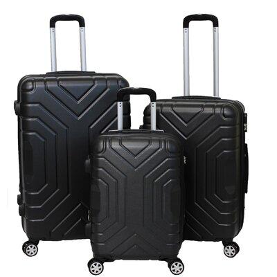 Carrera 3 Piece Luggage Set by World Traveler