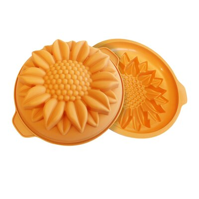 Sunflower Cake Pan by SilikoMart