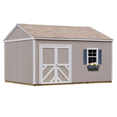 Handy Home Premier Series 12 Ft. W x 16 Ft. D Wood Storage Shed