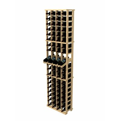 Rustic Pine 80 Bottle Wine Rack by Wine Cellar