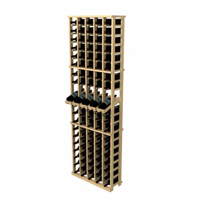 Rustic Pine 100 Bottle Wine Rack by Wine Cellar