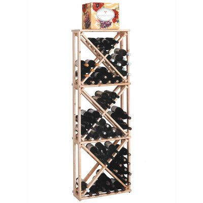 Designer Series 132 Bottle Open Diamond Cube Wine Rack by Wine Cellar