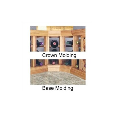 Designer Series Curved Molding by Wine Cellar
