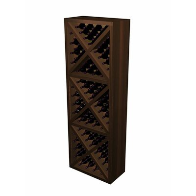 Designer Series 132 Bottle Diamond Cube Wine Rack by Wine Cellar