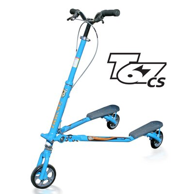 Trikke Tech Inc. T67 Convertible Steel Scooter Scooter T67CS