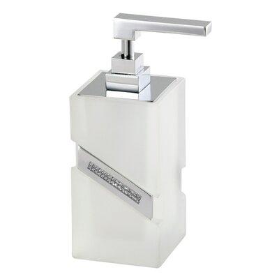 Carmen Table Glass Soap Dispenser by Hispania Home