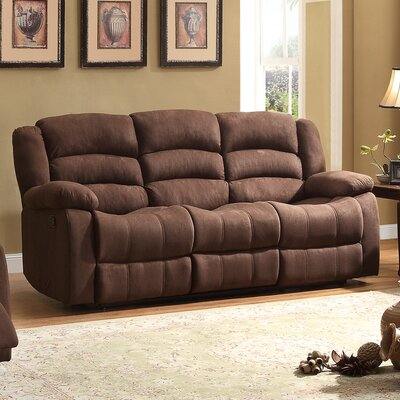 Greenville Double Reclining Sofa by Homelegance