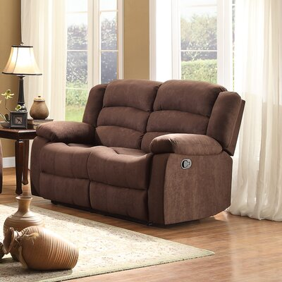 Greenville Reclining Loveseat by Homelegance